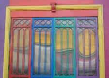 Colorful entrance Stock Photos