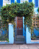 Colorful entrance, Notting hill, London. England Stock Photos