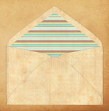 Colorful envelope, vintage style Royalty Free Stock Images