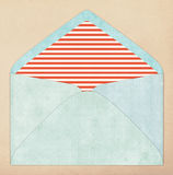 Colorful envelope, vintage style Royalty Free Stock Photo