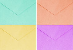 Colorful envelope, vintage style, trend, style Stock Images