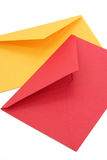 Colorful envelopes Stock Photography