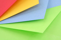 Colorful envelopes Royalty Free Stock Photo