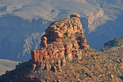 Colorful Eroded Rock Formation of the Grand Canyon Royalty Free Stock Images