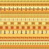 Colorful ethnic african seamless pattern design. With strips. Vector illustration Royalty Free Stock Photo