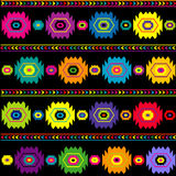 Colorful ethnic background, traditional texture Stock Photography
