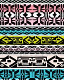 Colorful ethnic design Royalty Free Stock Images