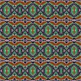 Colorful Ethnic Geometric Pattern Stock Photo