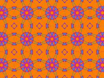 Colorful ethnic ornament. Arabesque style royalty free stock image