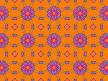 Colorful ethnic ornament. Arabesque style royalty free stock photography