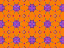 Colorful ethnic ornament. Arabesque style royalty free stock photo