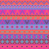 Colorful ethnic pattern Stock Photography