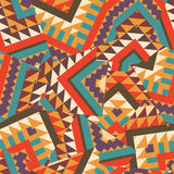Colorful ethnic pattern Stock Image