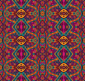 Colorful ethnic seamless patten. Abstract Tribal vintage ethnic seamless pattern ornamental Stock Photos