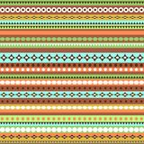Colorful ethnic seamless pattern design Royalty Free Stock Image