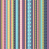Colorful ethnic seamless pattern design Stock Photography