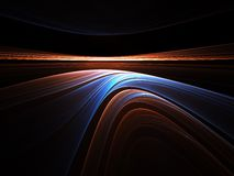 Colorful evening horizon Stock Photography