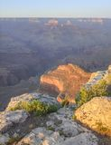 Grand Canyon in Arizona. Colorful evening scenery at the Grand Canyon National Park in Arizona, USA Royalty Free Stock Image