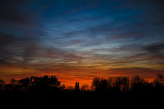 Colorful evening Sky Royalty Free Stock Images
