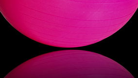 Colorful Exercise Balls stock footage