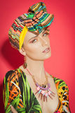 Colorful Exotic Fashion Royalty Free Stock Images