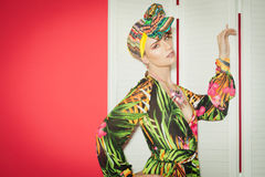 Colorful Exotic Fashion Royalty Free Stock Photos