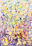 Colorful Explosion Background. A colorful background in mixed media Royalty Free Stock Images