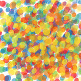 Colorful explosion of confetti.  Colorful drops texture vector. Stock Photos