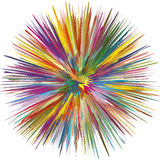 Colorful Explosion Stock Photo