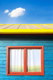 Colorful exterior architecture Royalty Free Stock Photos