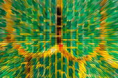 Colorful extrude abstract background Stock Photography