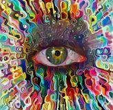 Colorful Eye Stock Images