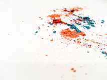 Colorful eye shadows Royalty Free Stock Image