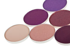 Colorful eyeshadow collection Royalty Free Stock Image