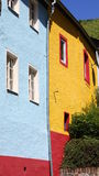 Colorful façades Stock Image