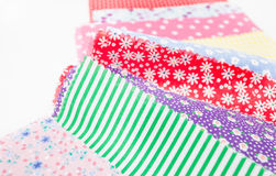 Colorful fabric Royalty Free Stock Photos