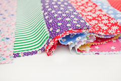 Colorful fabric Royalty Free Stock Photography