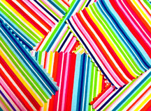 Colorful fabric. As an abstract background Royalty Free Stock Images