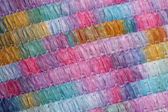 Colorful fabric background Royalty Free Stock Photography