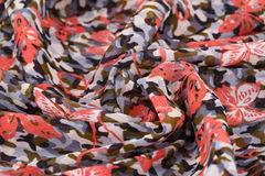 Colorful fabric. For background, close-up image Royalty Free Stock Photos