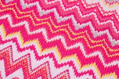 Colorful fabric background. Closeup picture Stock Photography