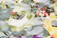 Colorful fabric background Stock Photography