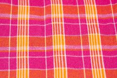 Colorful fabric background. Closeup picture Stock Image