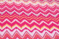 Colorful fabric background. Closeup picture Royalty Free Stock Photos