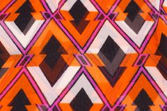 Colorful fabric background. Closeup picture Royalty Free Stock Photo