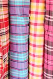 Colorful fabric background Stock Photo