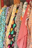 Colorful fabric background Stock Images