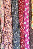 Colorful fabric background. Or texture Stock Photo
