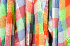 Colorful fabric Royalty Free Stock Photo