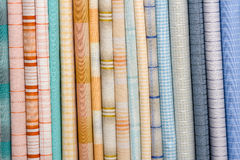 Colorful fabric, close up Royalty Free Stock Photography